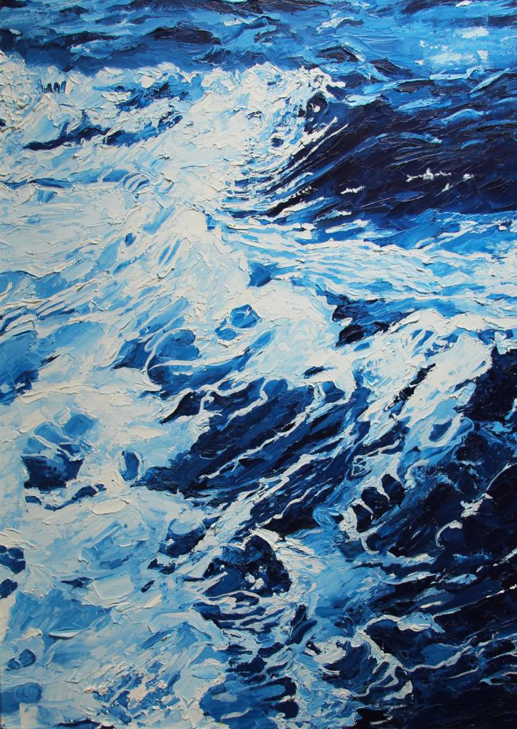 Ocean Of Calm-paintings Showflipper