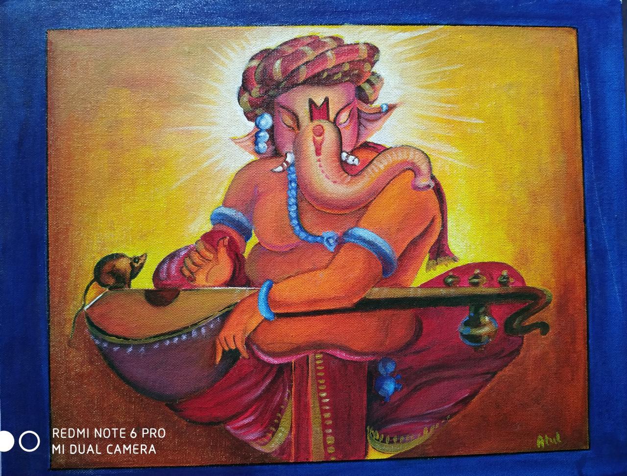 Ganesha Painting-paintings Showflipper