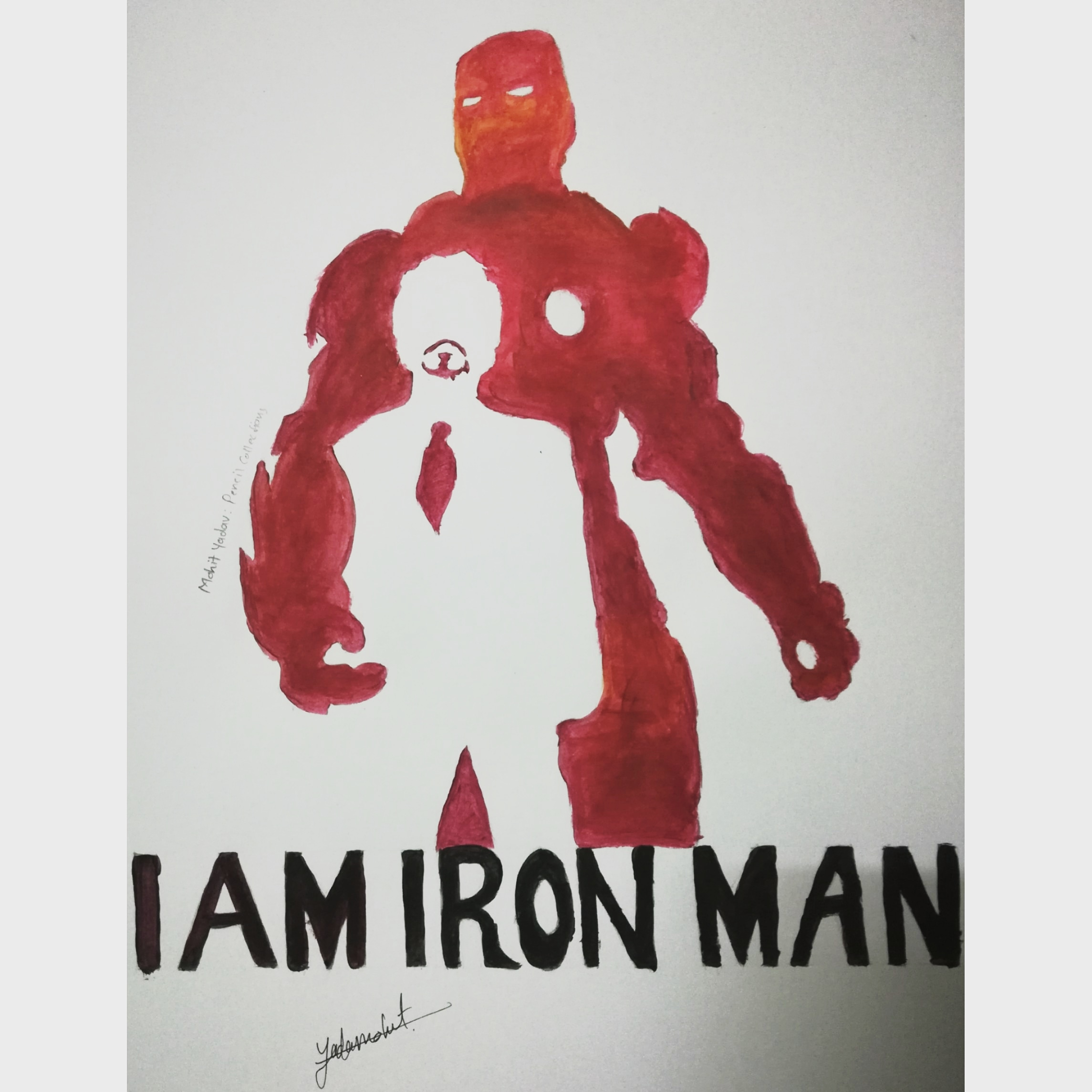 Iron Man -paintings Showflipper