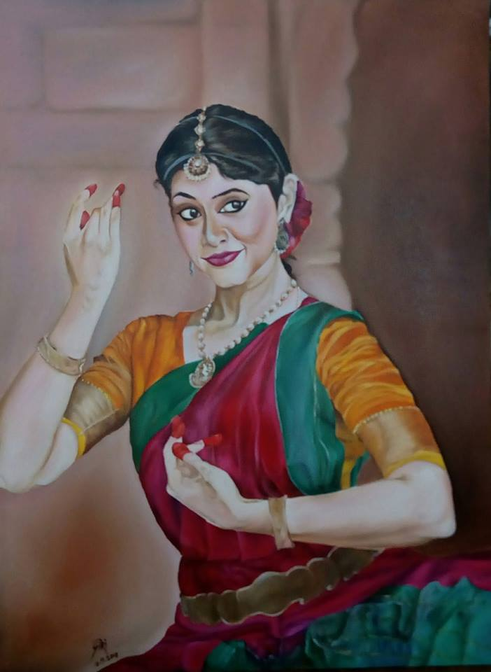 Painting Of A Dancer-paintings Showflipper