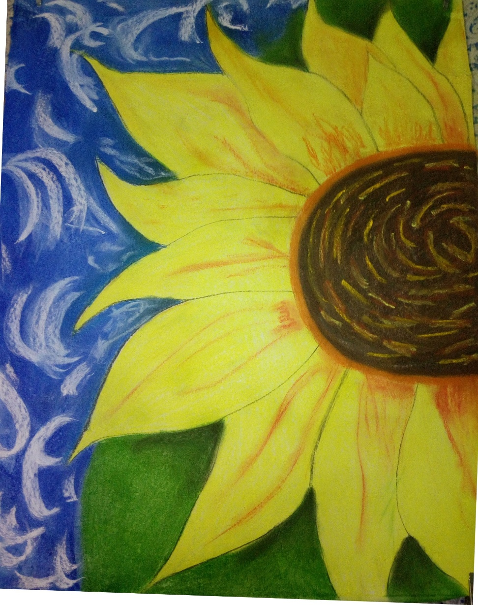 Sun Flower- paintings Showflipper