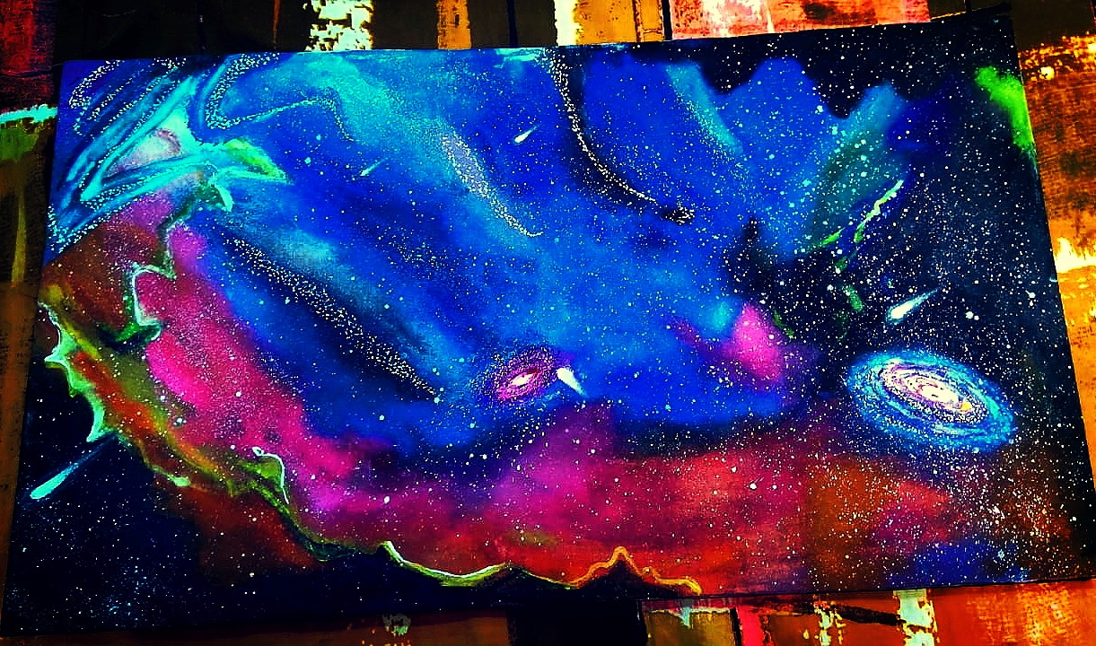 Universe Painting-paintings Showflipper