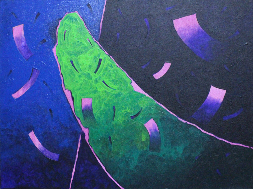 Nature series -abstract paintings Showflipper