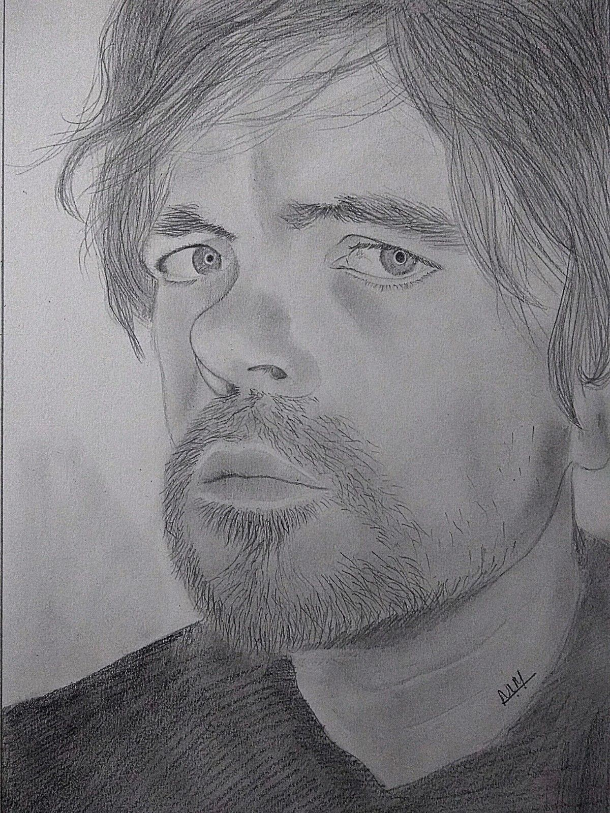 Peter Dinklage Sketch-drawing Showflipper