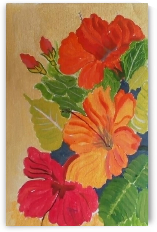The Flowers In Its Best-paintings Showflipper