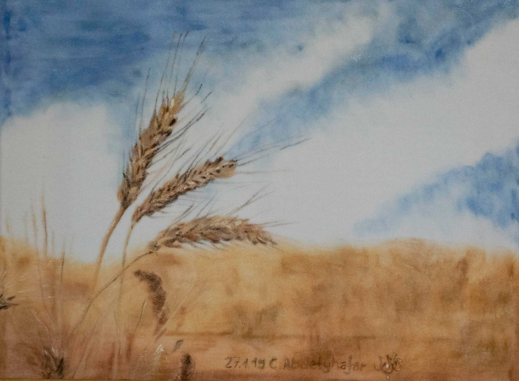 Wheat Ears-paintings Showflipper