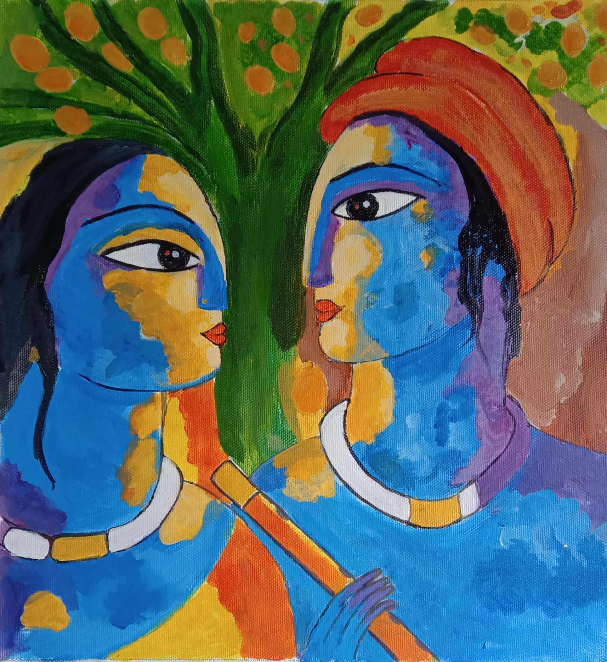 KRISHNA RADHA-paintings Showflipper