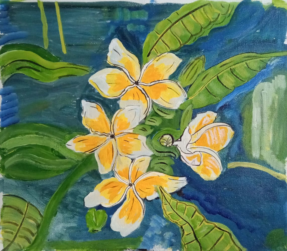 THE YELLOW FLOWERS-paintings Showflipper