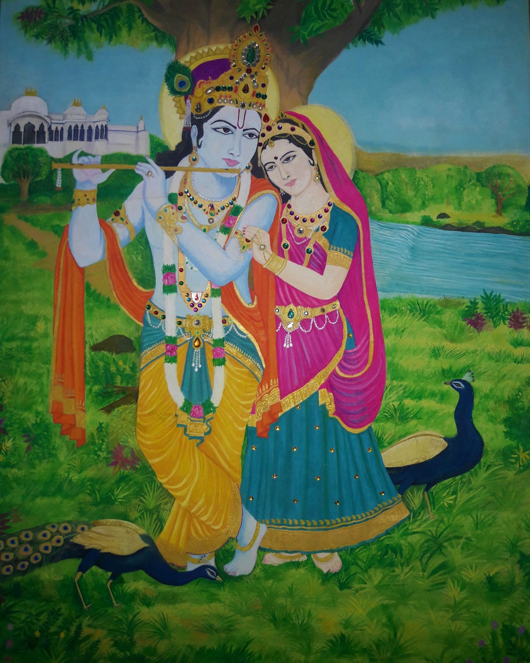 Radhe Krishna-paintings Showflipper