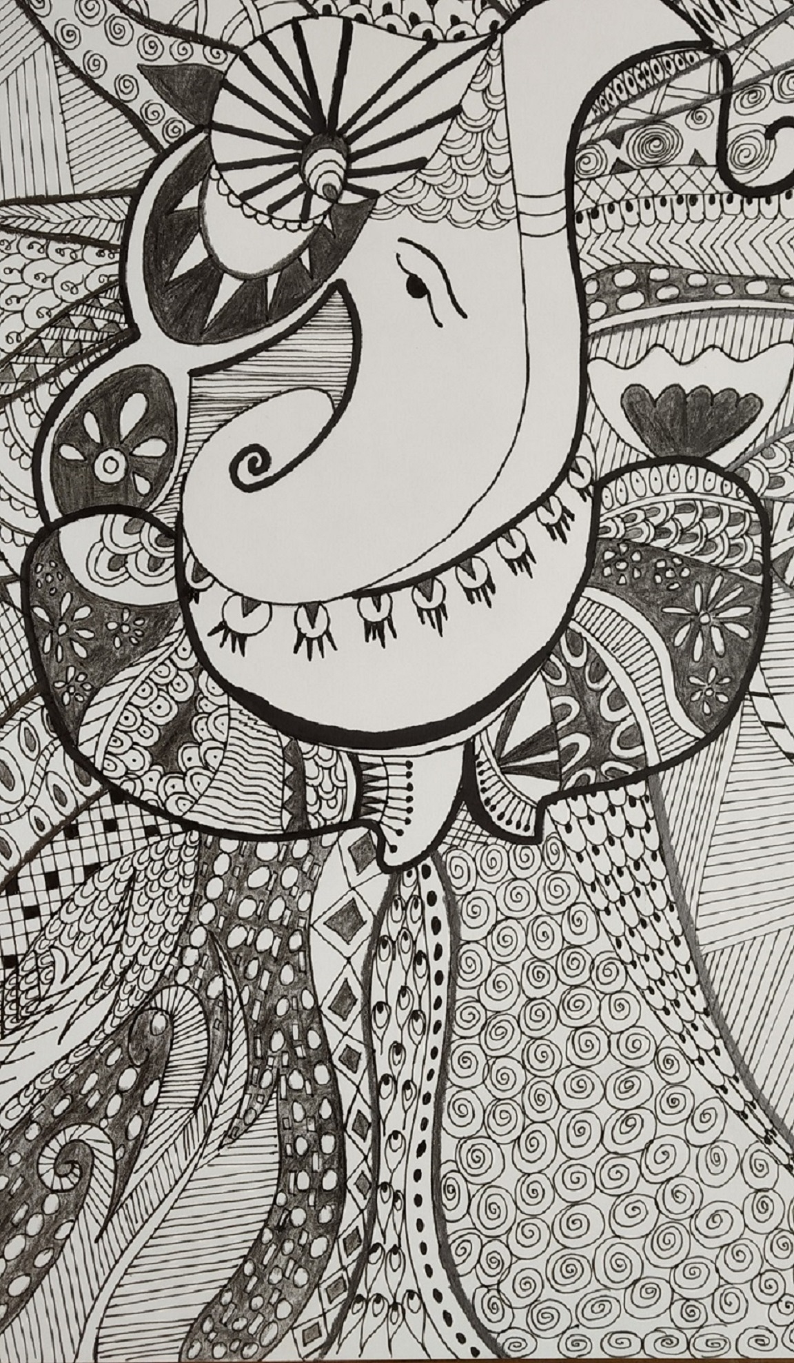 Lord Ganesha-drawing