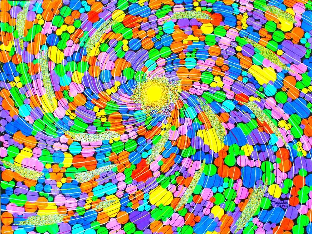Sun-paintings by Maggie Lee