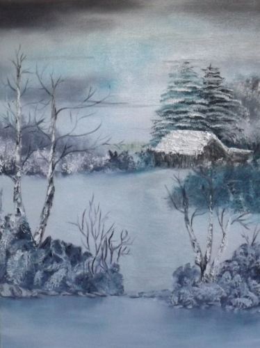 Waterecolour Scenery Painting