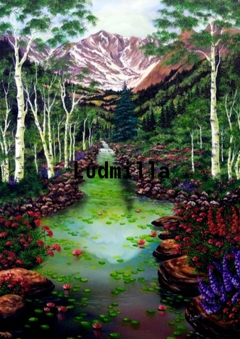 Landscape Nature Painting