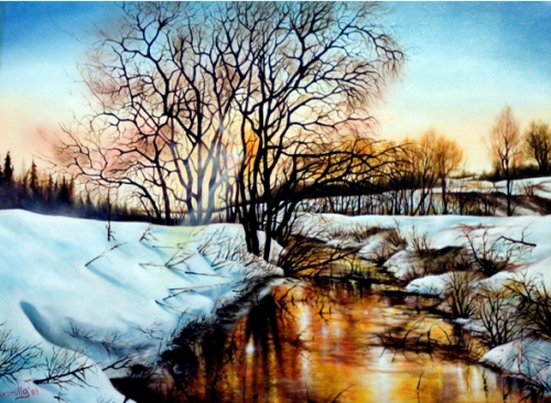 Nature Landscape Painting