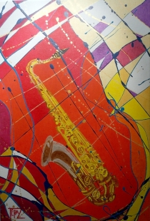 Saxophone Fine Art