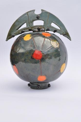 Urn Planets Sculpture