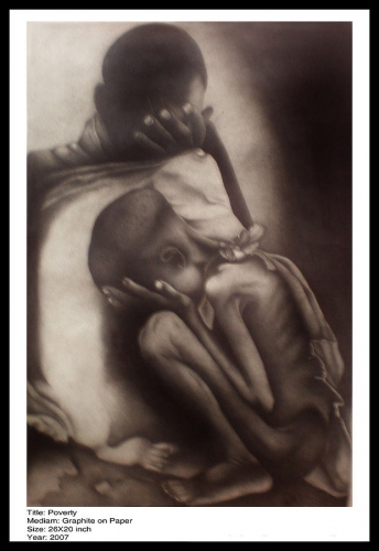 Graphite on paper Fine Art