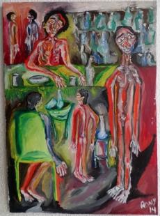 Alcoholicos Fine Art