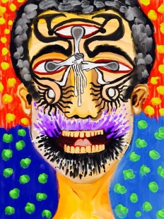 Selfportrait Coop Hands Digital Art