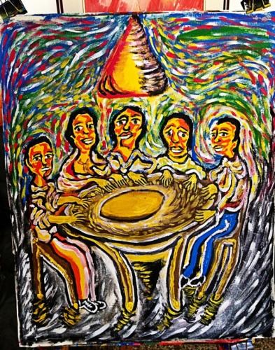 La Sagrada Familia Fine Art