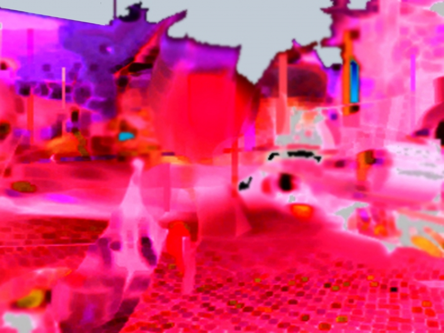 Urban Scan Digital Art