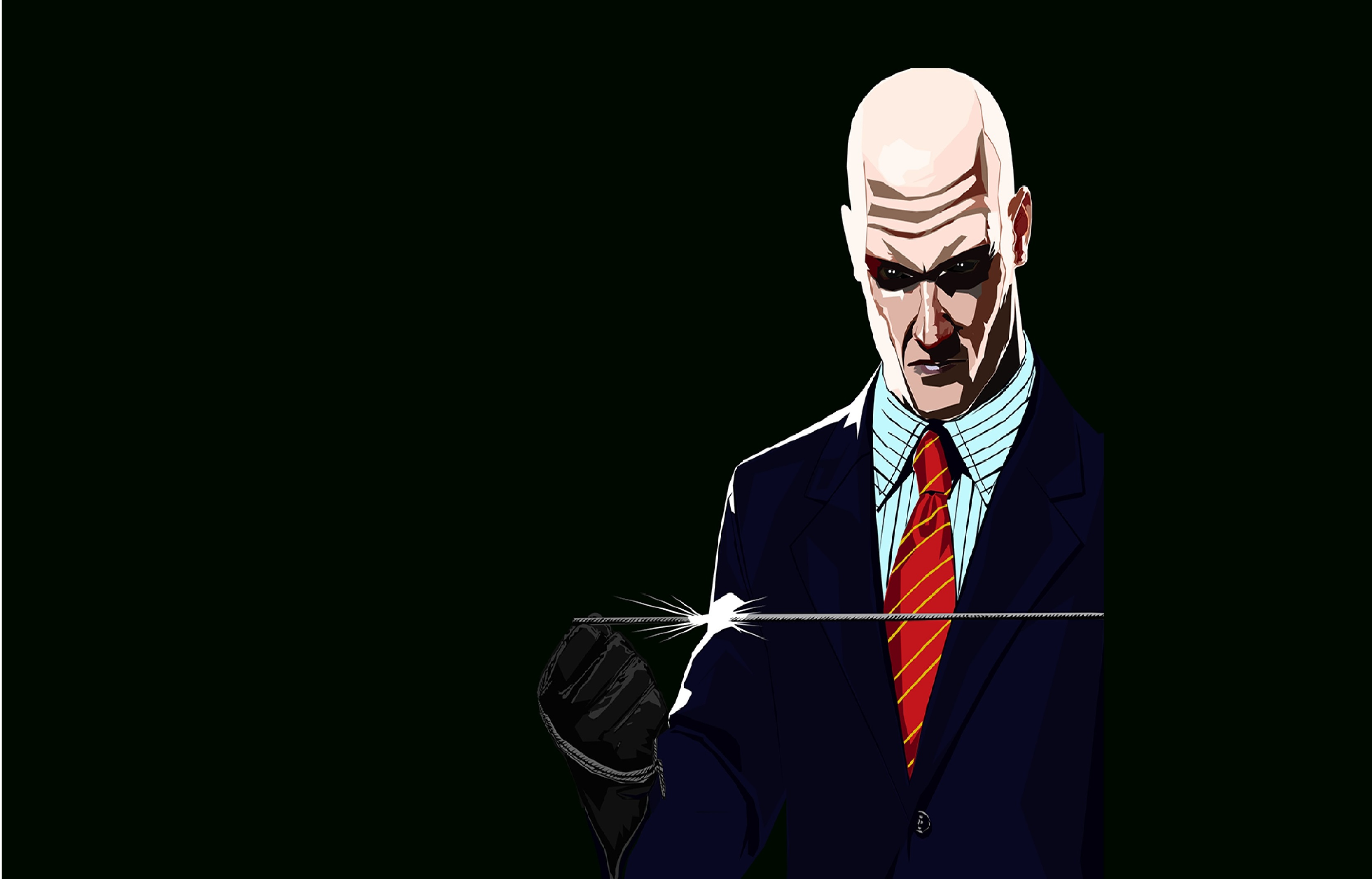 Hitman Illustration Digital Painting