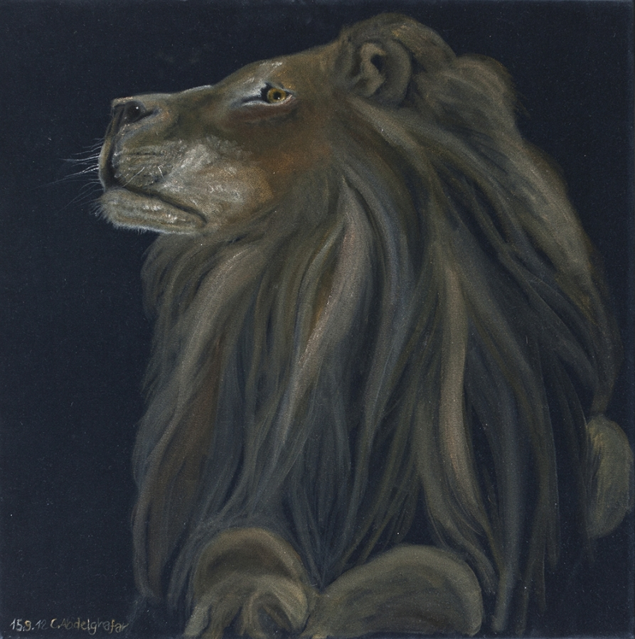 Proud lion Fine Art