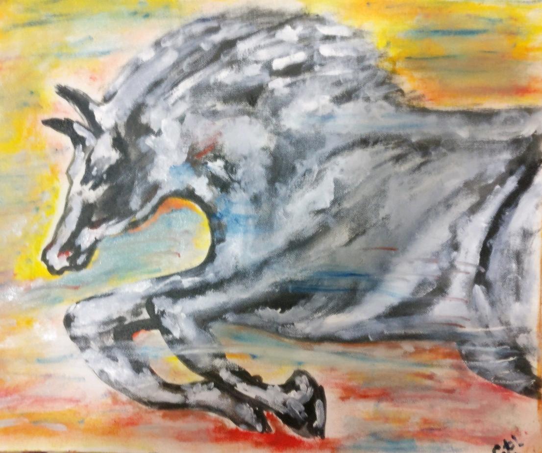 Gallop Fine Art by Amitabh Deb Choudhury