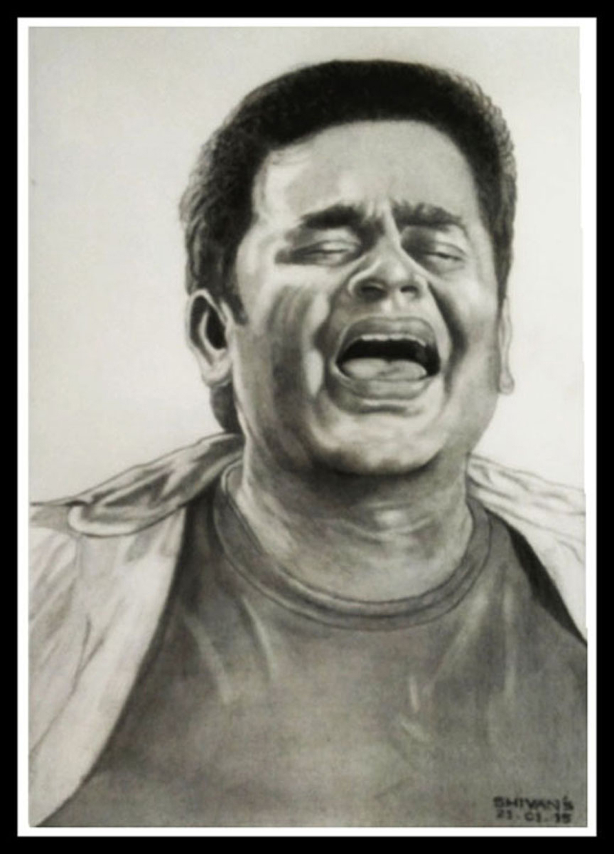 INDIAN MUSIC COMPOSER, SINGER-SONGWRITER, MUSICIAN A.R. RAHMAN  Fine Art