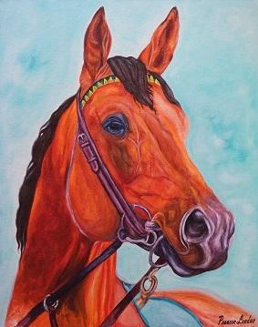 HORSE PORTRAIT Fine art by PRAVEEN LENDWE
