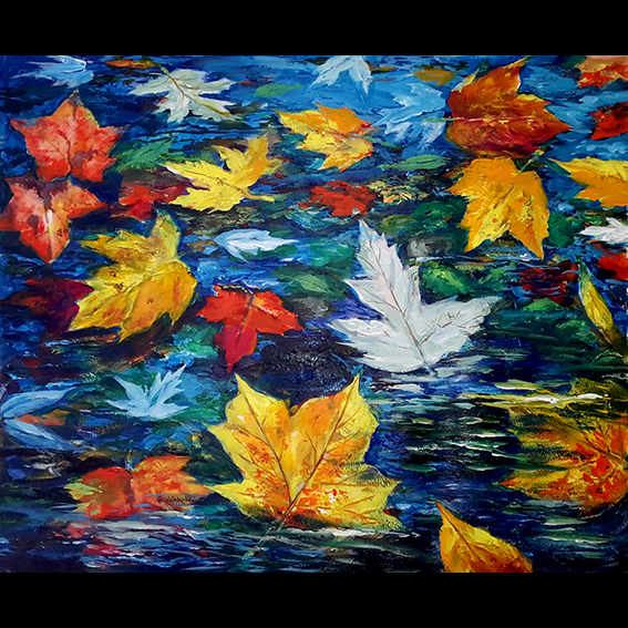 Floating Leaves Fine Art