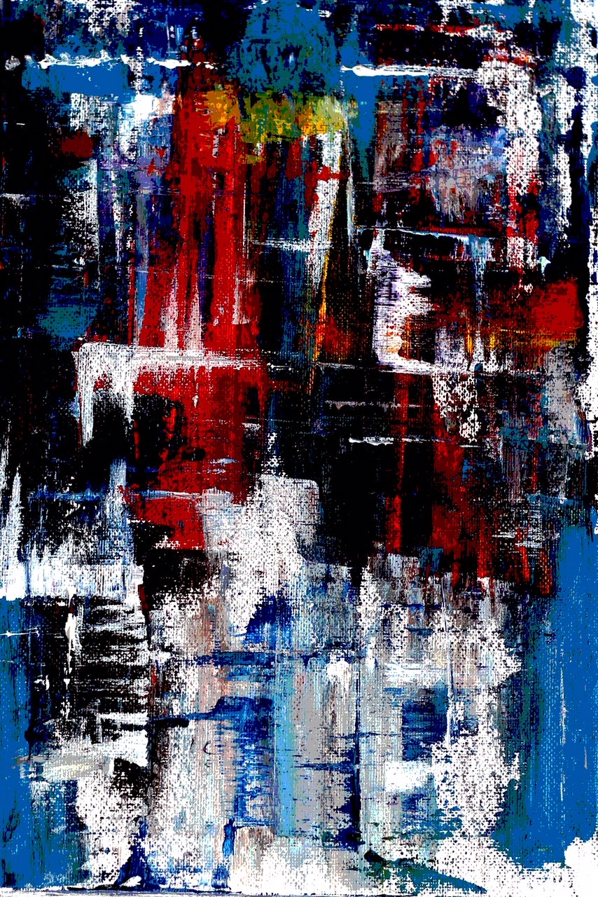 Abstract Painting  Fine Art by Shajulu Azeez