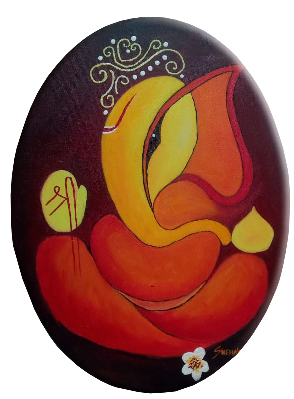 Lord Ganesha-paintings Showflipper by Snehal W