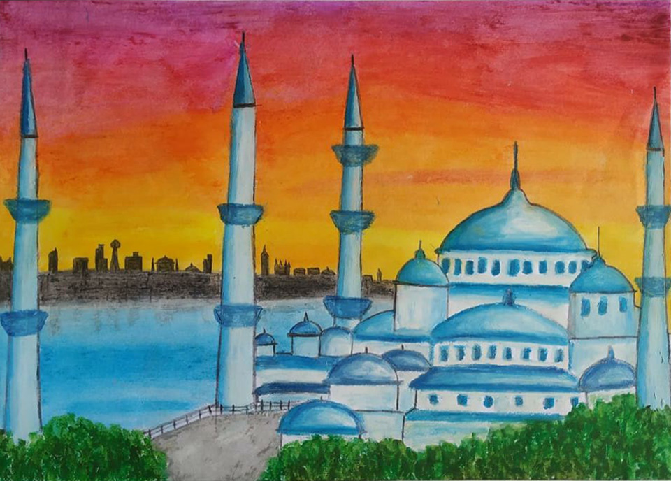 An Evening In Istanbul -paintings Showflipper