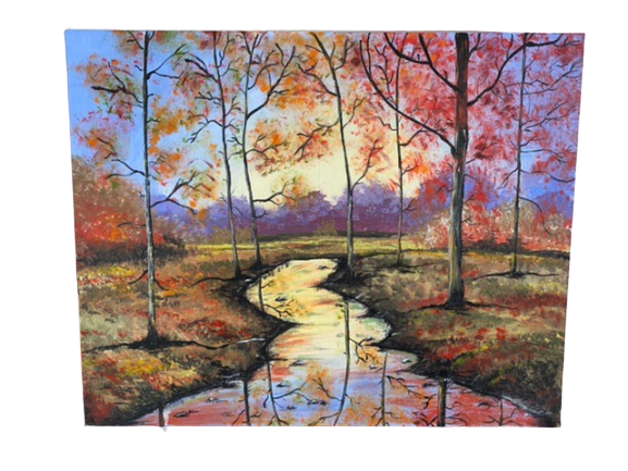 Autumn Forest -paintings Showflipper