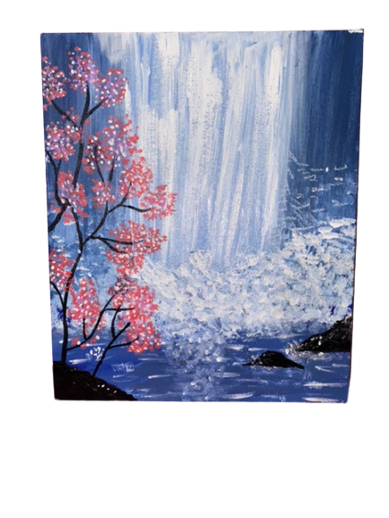 Waterfalls -paintings Showflipper