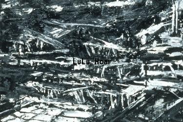 Black and white pans Fine Art