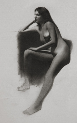 Nude Lady Sketch