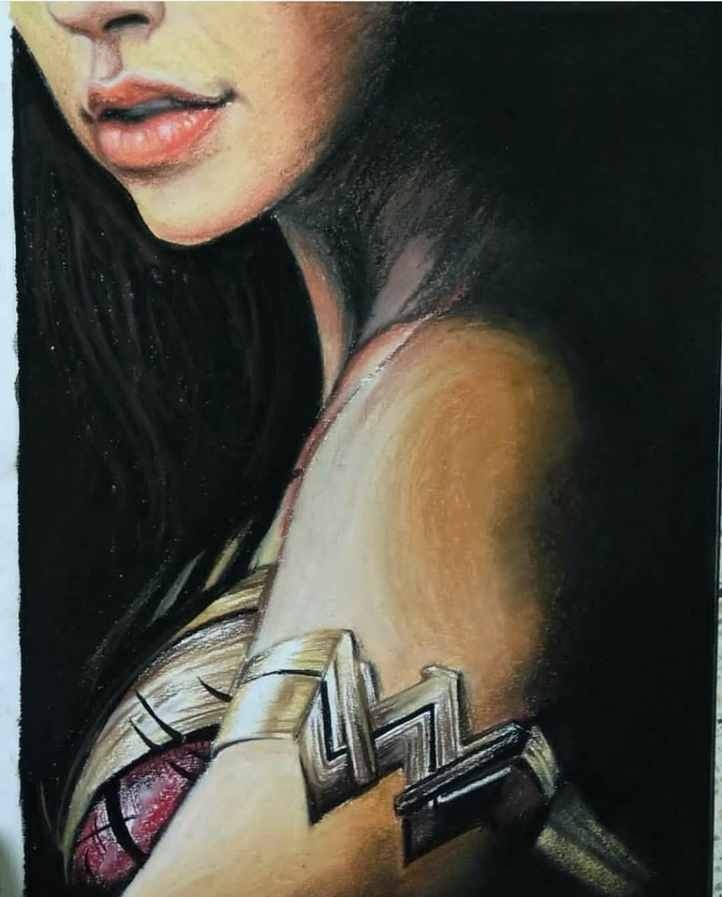 Wonder Woman  Fine Art