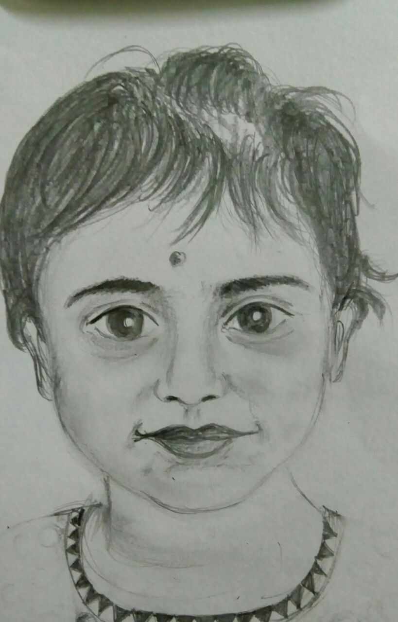 Girl Sketch Fine Art