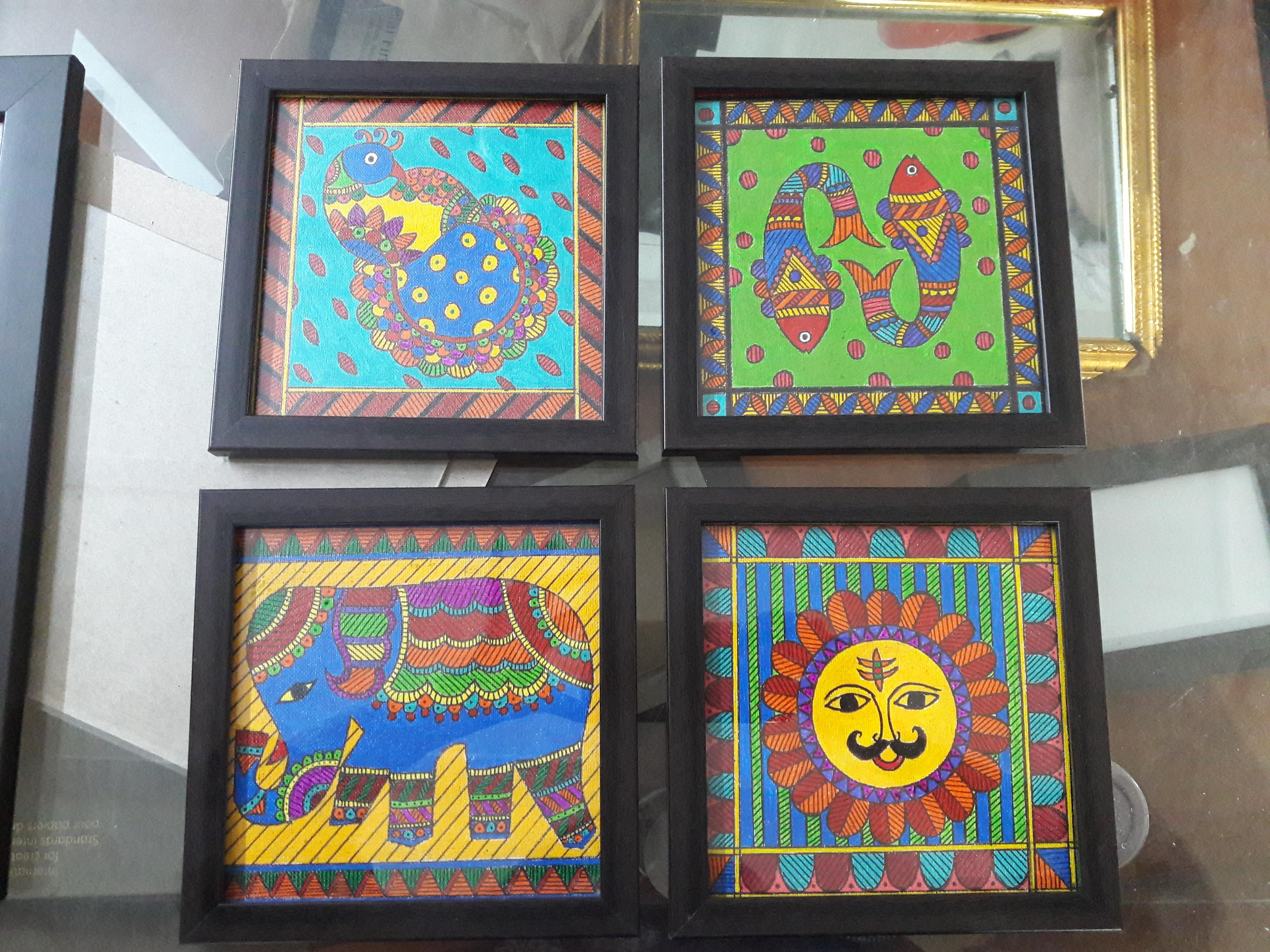 Handmade Madhubani Painting Fine Art