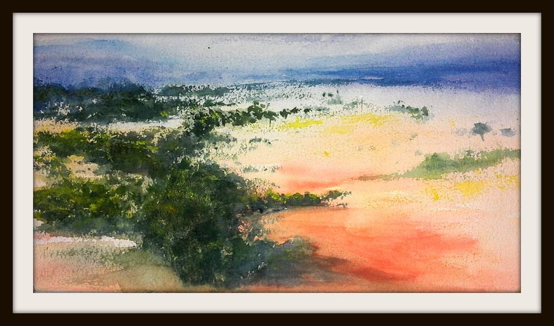 Watercolor Landscape Fine Art