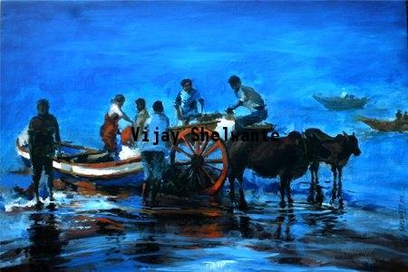 Blue Fine Art