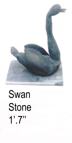 Swan Sculptures