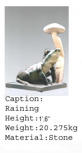 Raining sculpture