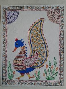 Mayoorika Madhubani Fine Art