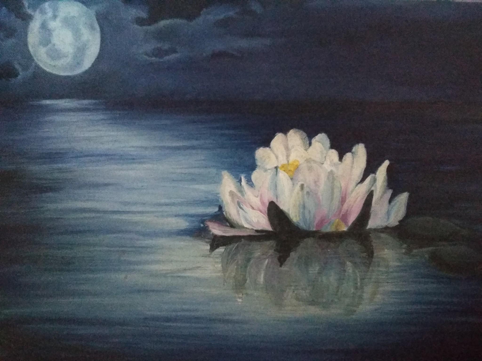 Moon Lit Fine Art  by Neha Pandey