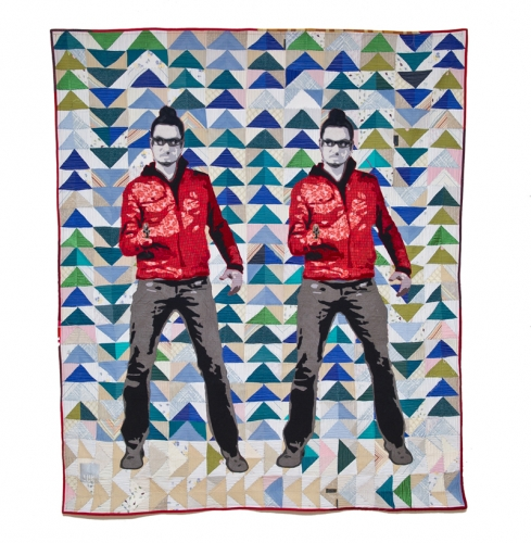 Human Fabric Art