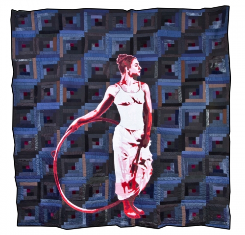The American Context Fabric Art