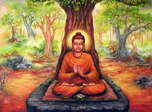 Buddha Deep Fine Art